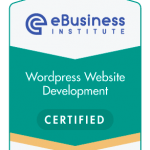 eBusiness webdesign certified